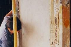 Inicio de restauración de fachada