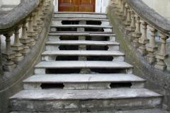 Escalera estado original sin restaurar