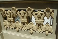 Detalle molduras restauradas
