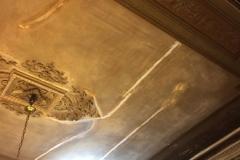 Restauración de cielorraso, estado original