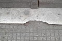 Reposición de mármoles