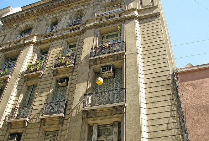 Edificio calle Perú